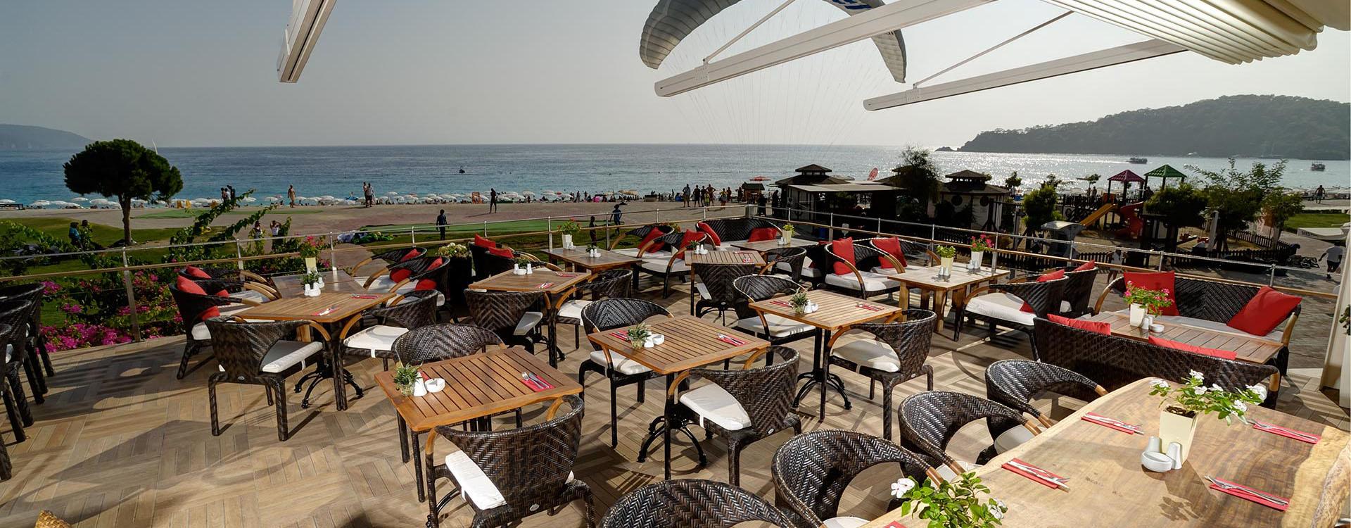 Hangout Restaurant Fethiye Oludeniz beach