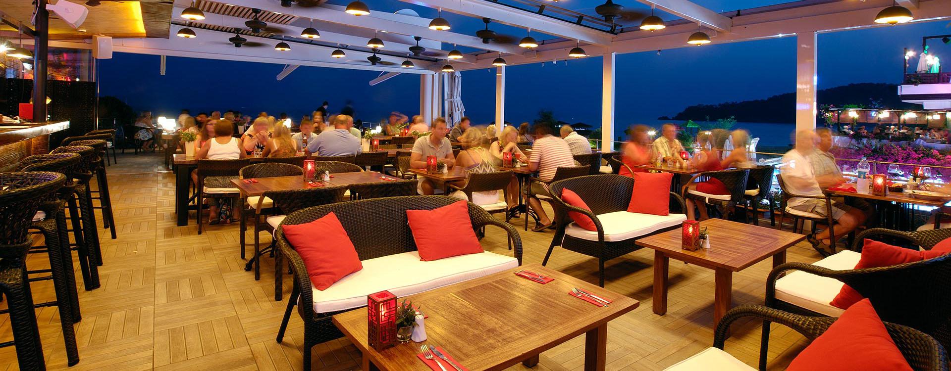 Hangout restaurant Oludeniz Fethiye