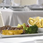 ENTRECOTE WITH CAFE DE PARIS SAUCE